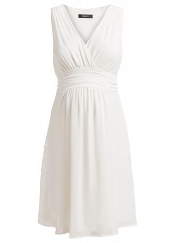 NOPPIES Kleid Liane weiß