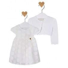 MAYORAL Kleid mit Strickjacke