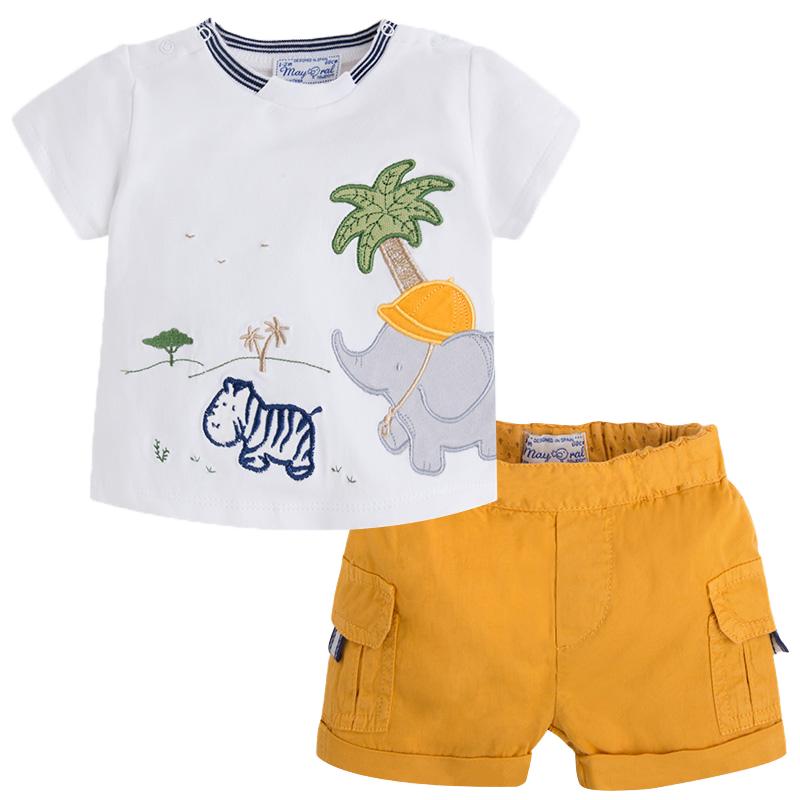 MAYORAL T-Shirt und Shorts