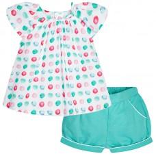 MAYORAL Bluse und Shorts