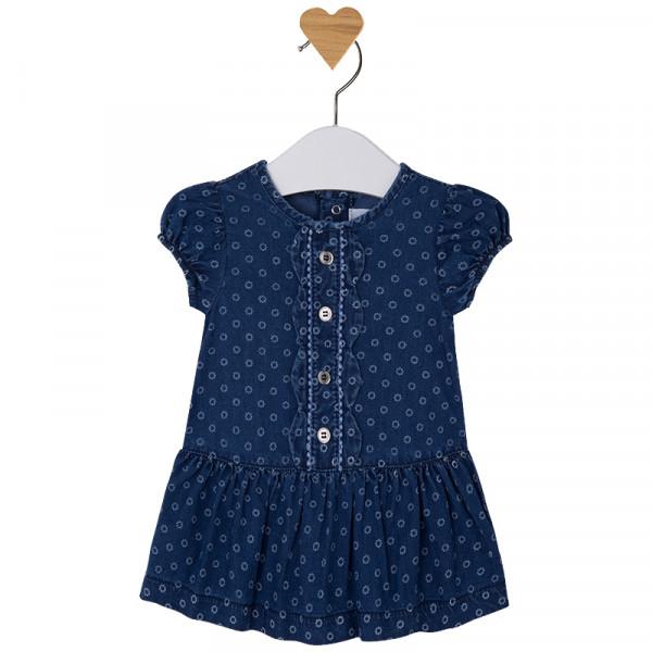 MAYORAL Kleid im Jeansstil