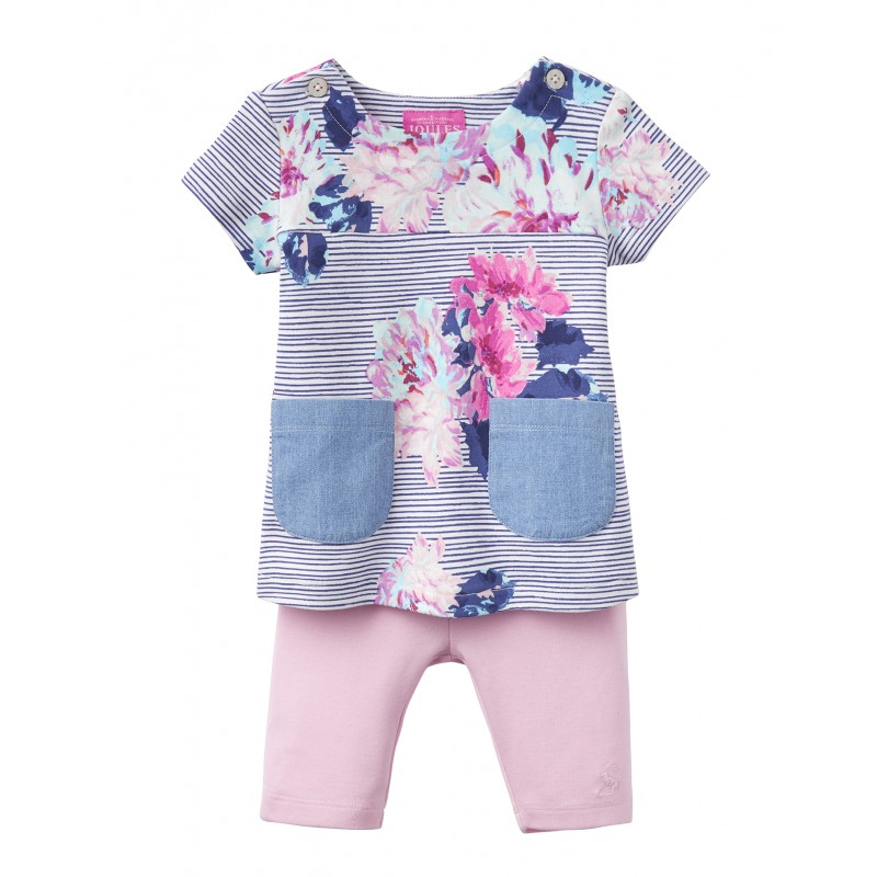 TOM JOULE T-Shirt und Short Set PAULA