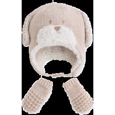 MAYORAL Baby Wintermütze und Fäustlinge