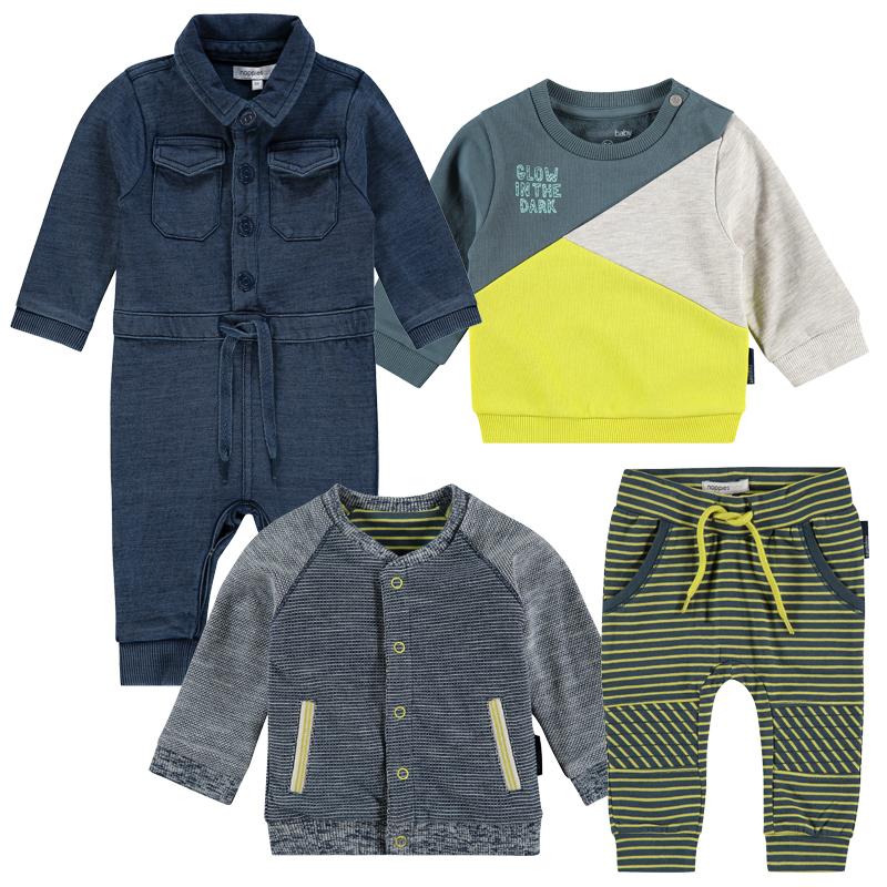 """NOPPIES 4-teiliges Buben Kleidungspaket """"fashion baby"""""""