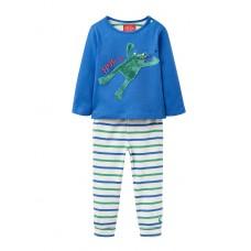 "TOM JOULE blau-grünes Langarmshirt- und Hose Set ""Byron"""