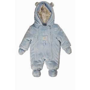 """KANZ Baby Plüschoverall """"blau"""""""
