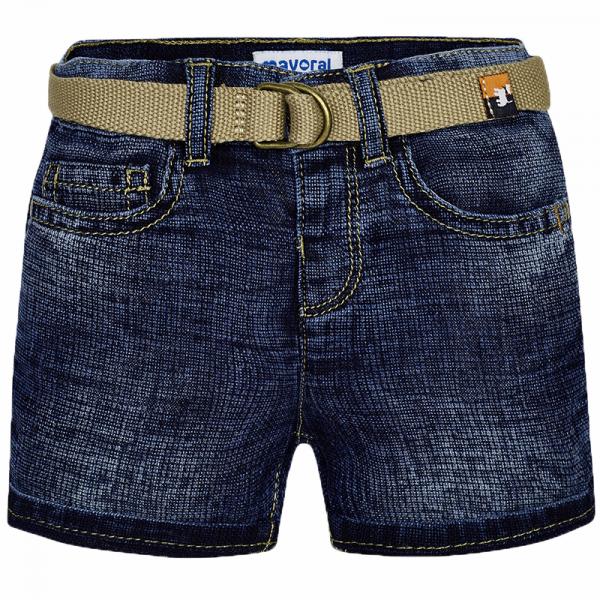 MAYORAL Buben Jeansshorts mit Gürtel