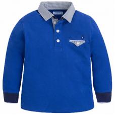 MAYORAL Langarm Poloshirt für Buben