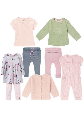 """8-teiliges Mädchen Kleidungspaket """"little cute girl"""""""