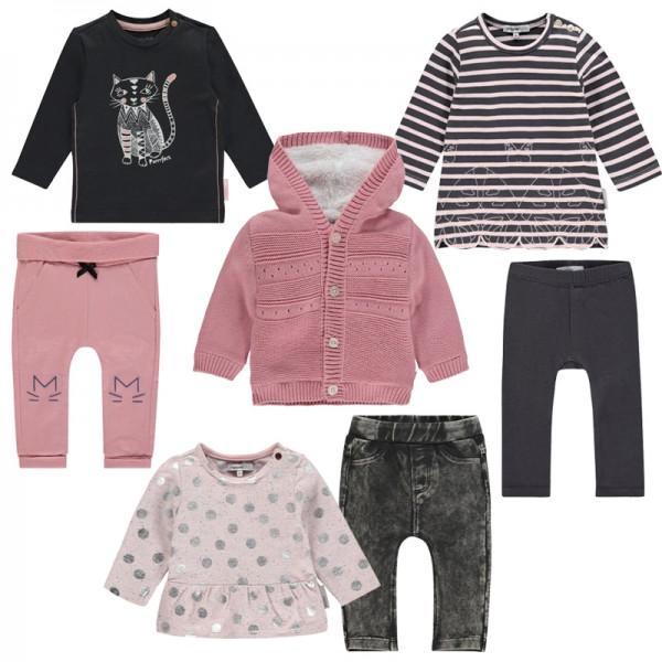 """NOPPIES 7-teiliges Mädchen Kleidungspaket """"sweet Cats"""""""