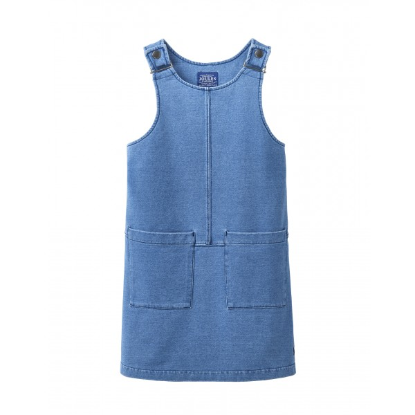 "TOM JOULE Jersey-Denim Latzkleid ""Tilda"""