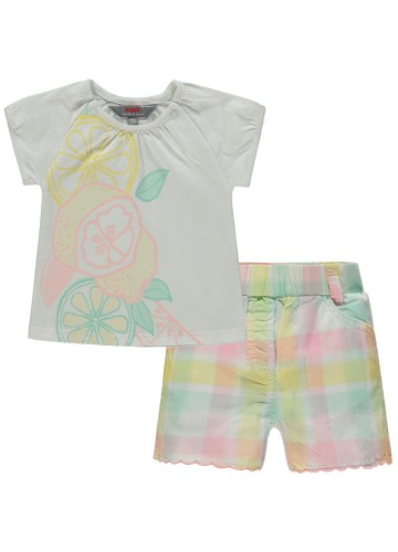 "KANZ Mädchenoutfit T-Shirt und Shorts ""Lemon Tree"""