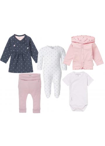 """NOPPIES 5-teiliges Neugeborenen-Paket """"Mädchen"""""""