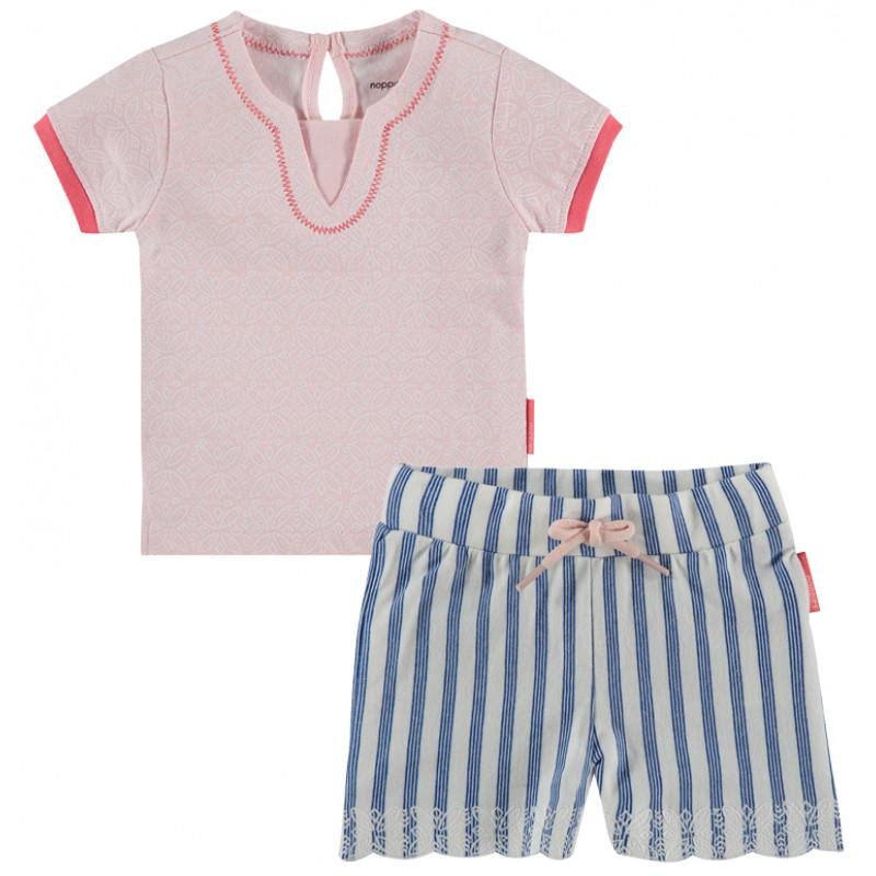 NOPPIES Mädchen Sommeroutfit T-Shirt und Shorts