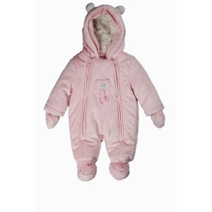 "KANZ Baby Plüschoverall ""rosa"""