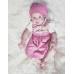 MOGO Babydirndl mit Rosendruck
