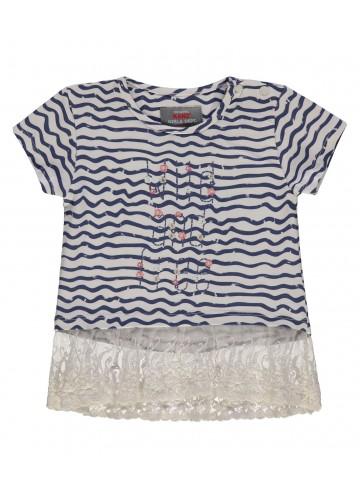 KANZ gestreiftes Mädchen T-Shirt