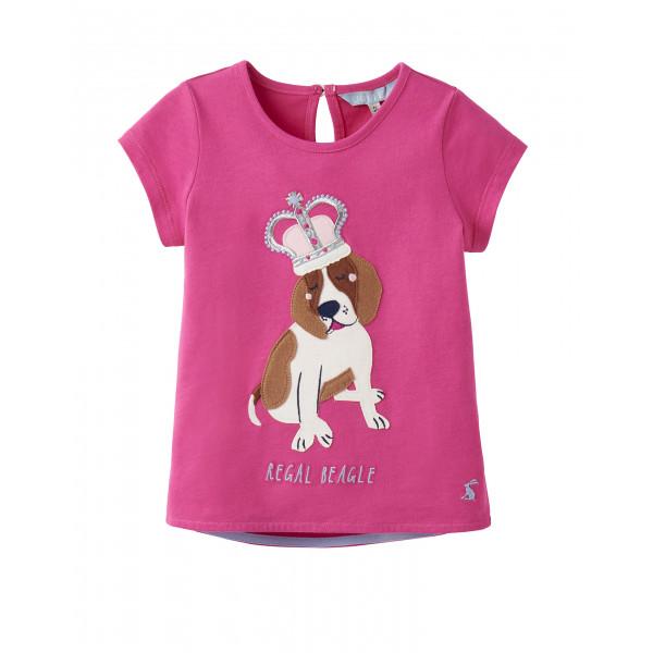 """TOM JOULE Mädchen T-Shirt """"Maggie Regal Beagle"""""""