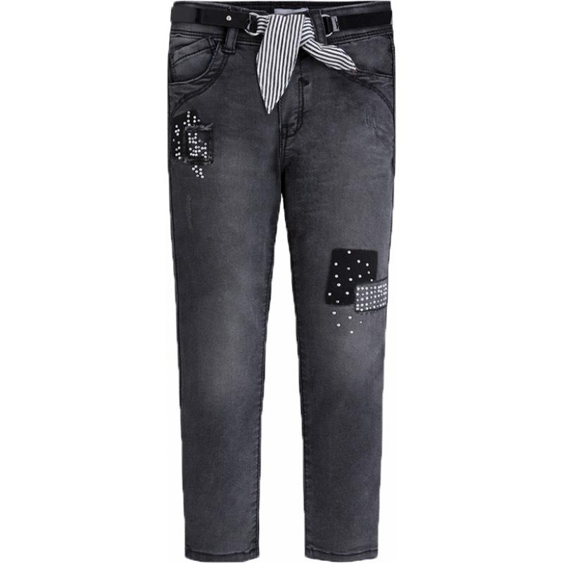 MAYORAL Mädchen Jeans mit Gürtel