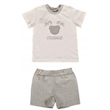 MILARDA T-Shirt und Short Set COURAGE