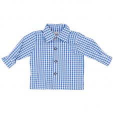 """A GWOND VOM LAND Buben Trachtenhemd """"blau"""""""