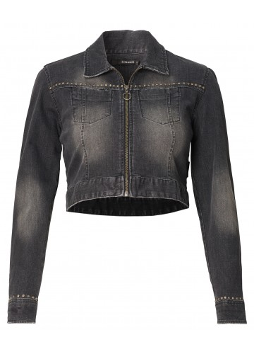 "SUPERMOM Umstands-Jeansjacke ""Denim Black"""