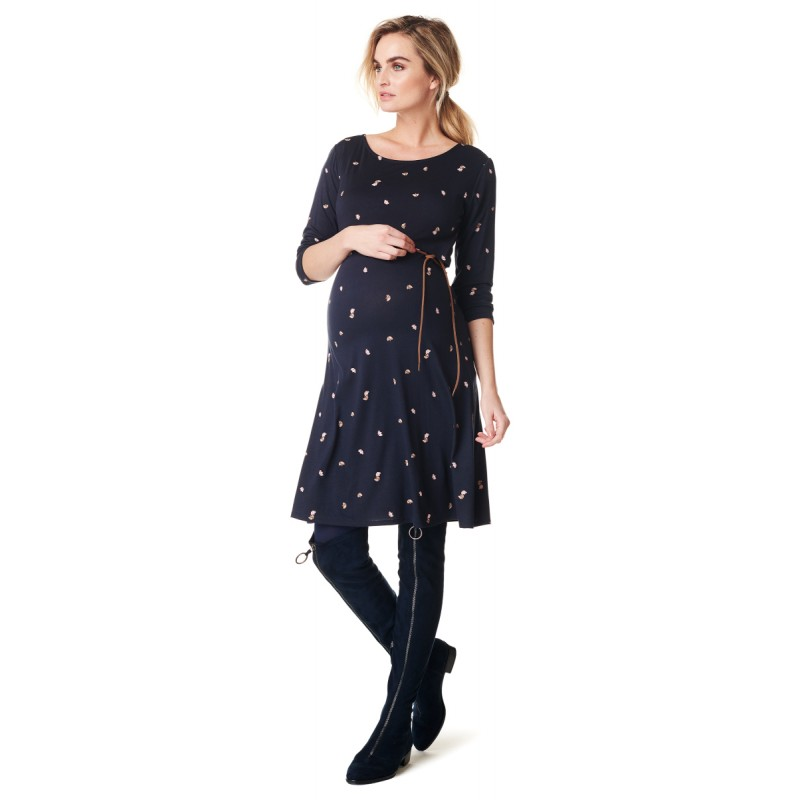 NOPPIES Still-Kleid Kaicy mit 3/4 Arm